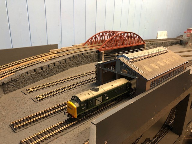First Green Diesel to be stabled at the forthcoming Railway Ceritage centre.jpg